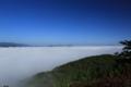 『京都新聞写真コンテスト 快晴の空の下に広がる雲海』