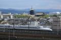 『京都鉄道博物館からの眺望』