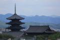 『京都鉄道博物館からの眺望』 東寺