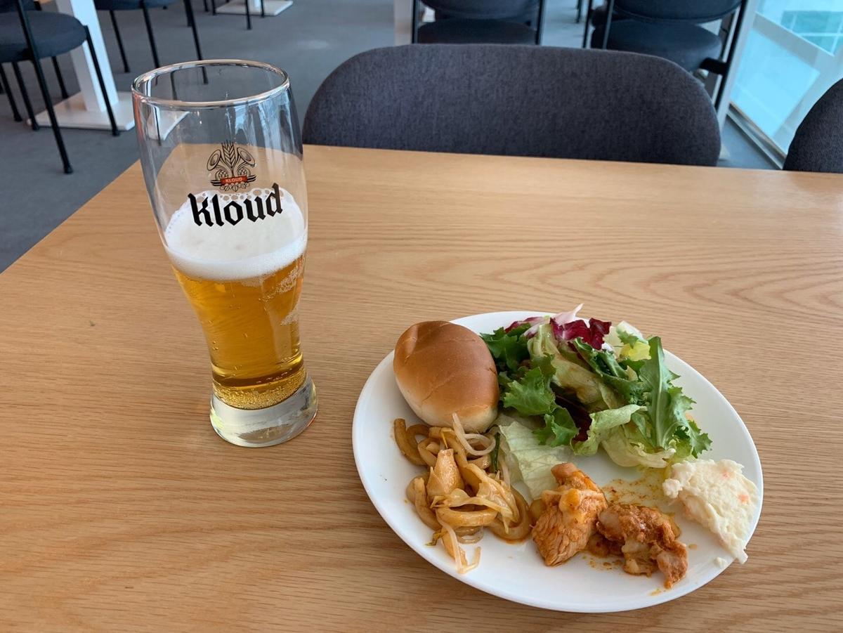 ビール,食べ物