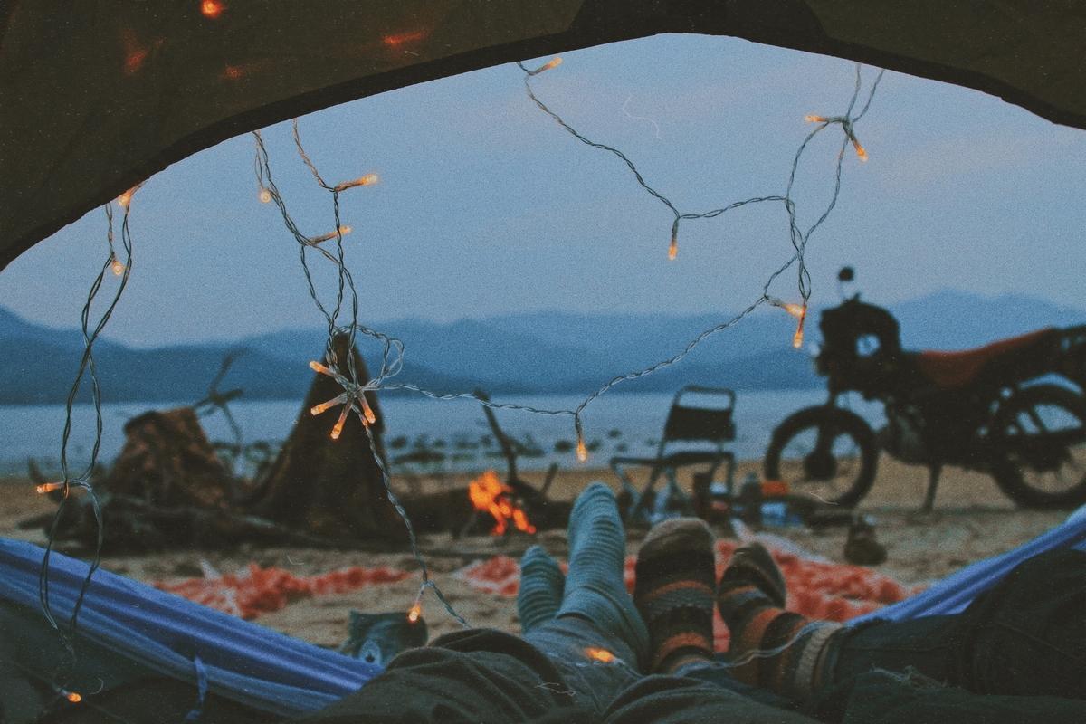 韓国,キャンプ