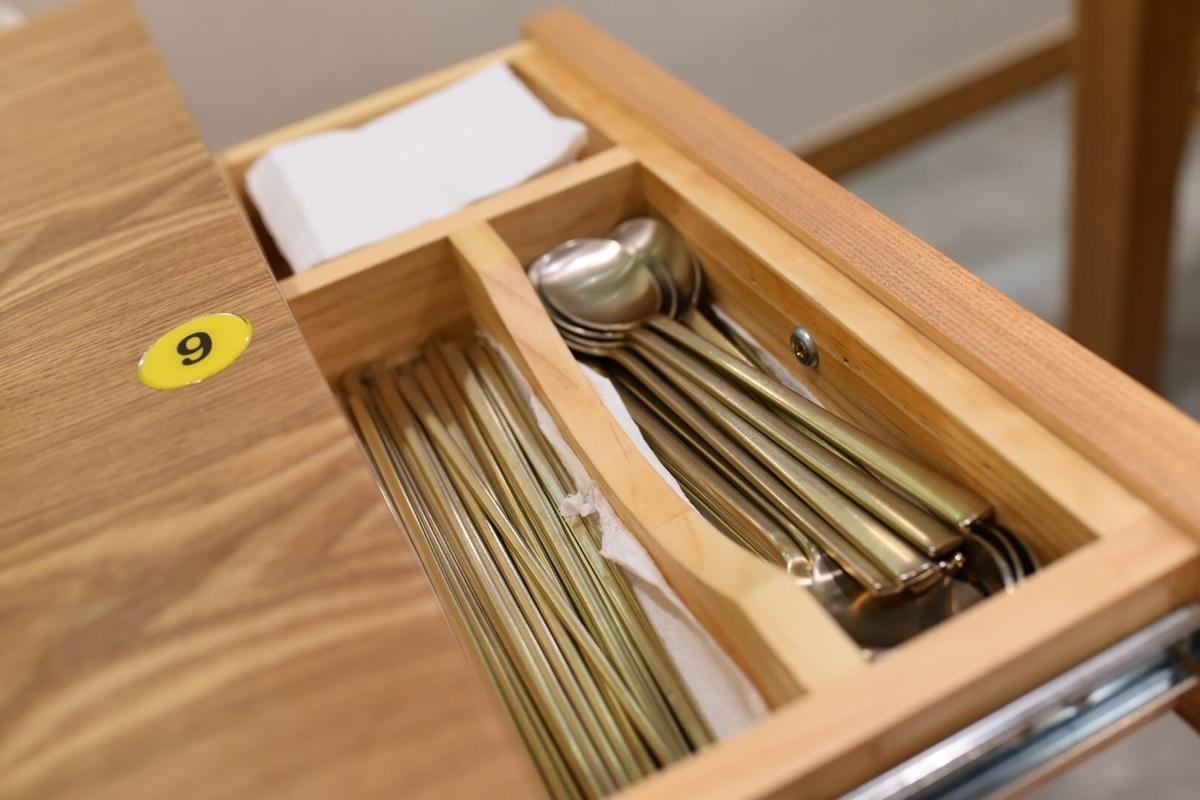 銀食器、銀の箸