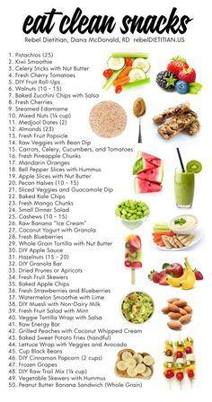 Eat Clean Snacks htt