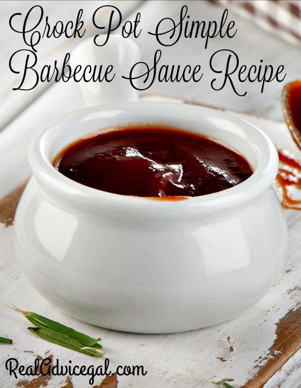 Crock Pot Simple Barbecue Sauce Recipe