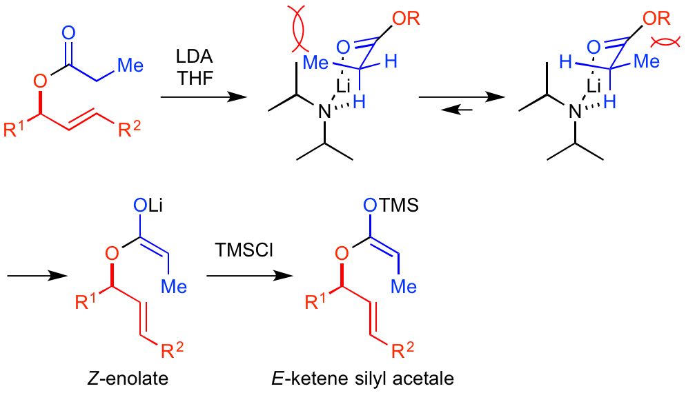 Ireland-Claisen rearrangement-fig.2