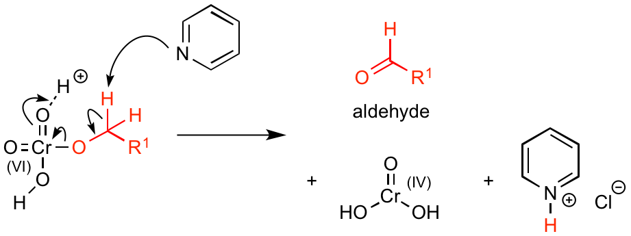 PCC-oxidation