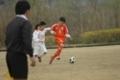 第2試合の相手である豊川南部は、守備に人数をかける面倒な相手だ