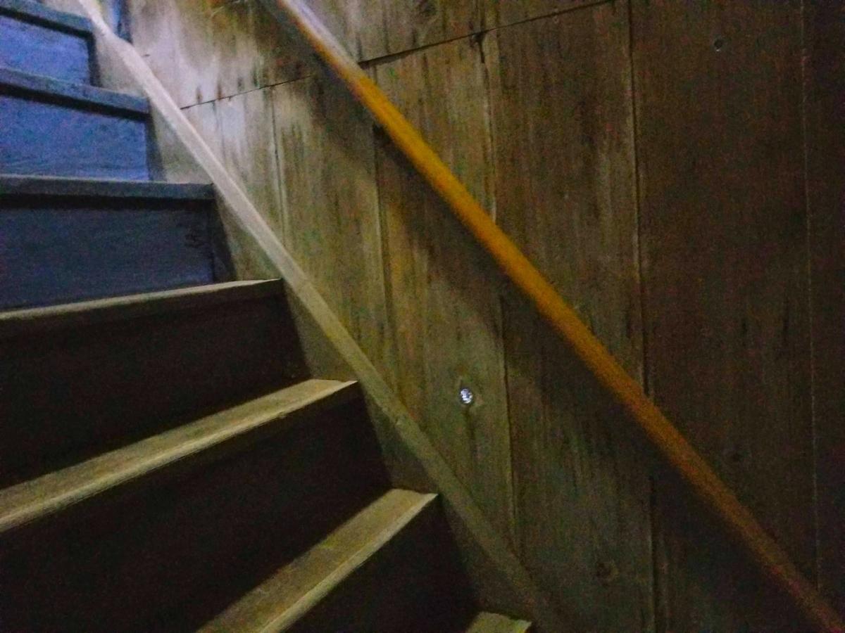 明賀屋本館 塩の湯 塩原 階段