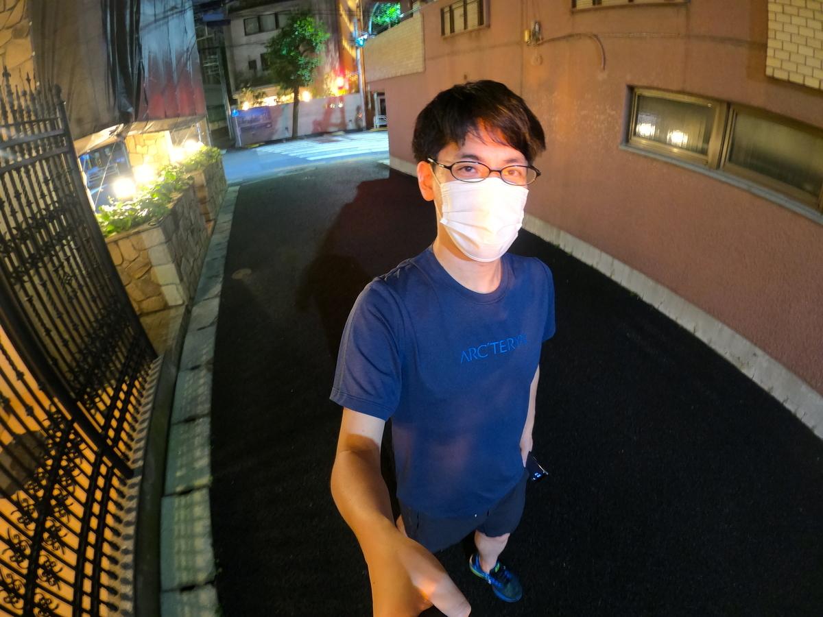 ランニング マスク ジョギング コロナ