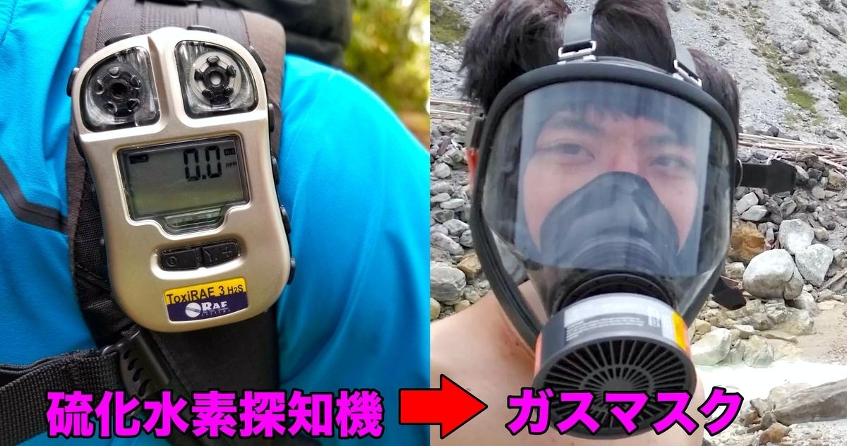 硫化水素探知機 ガスマスク