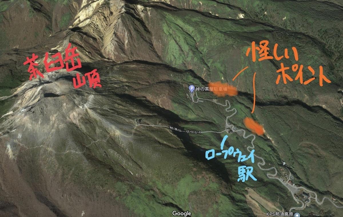 茶臼岳 源泉探索