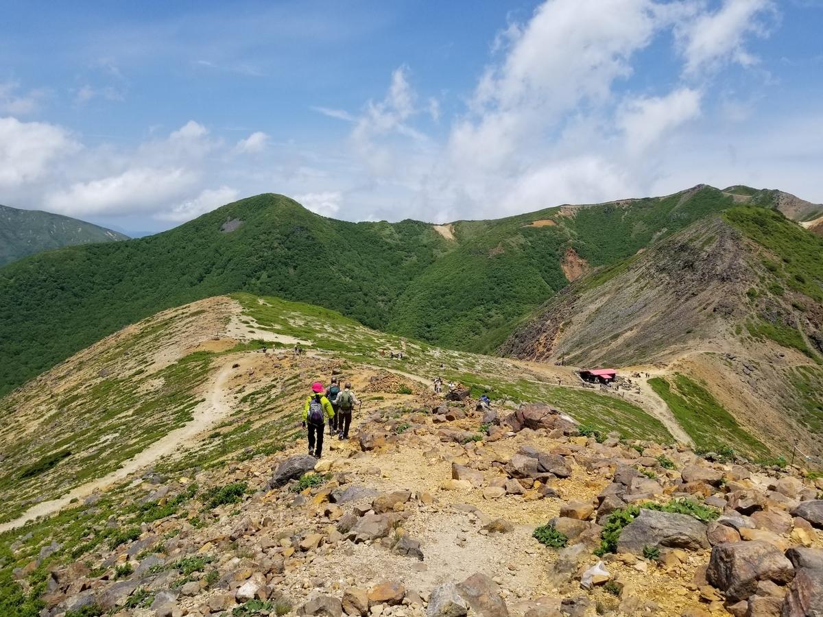 茶臼岳 那須岳