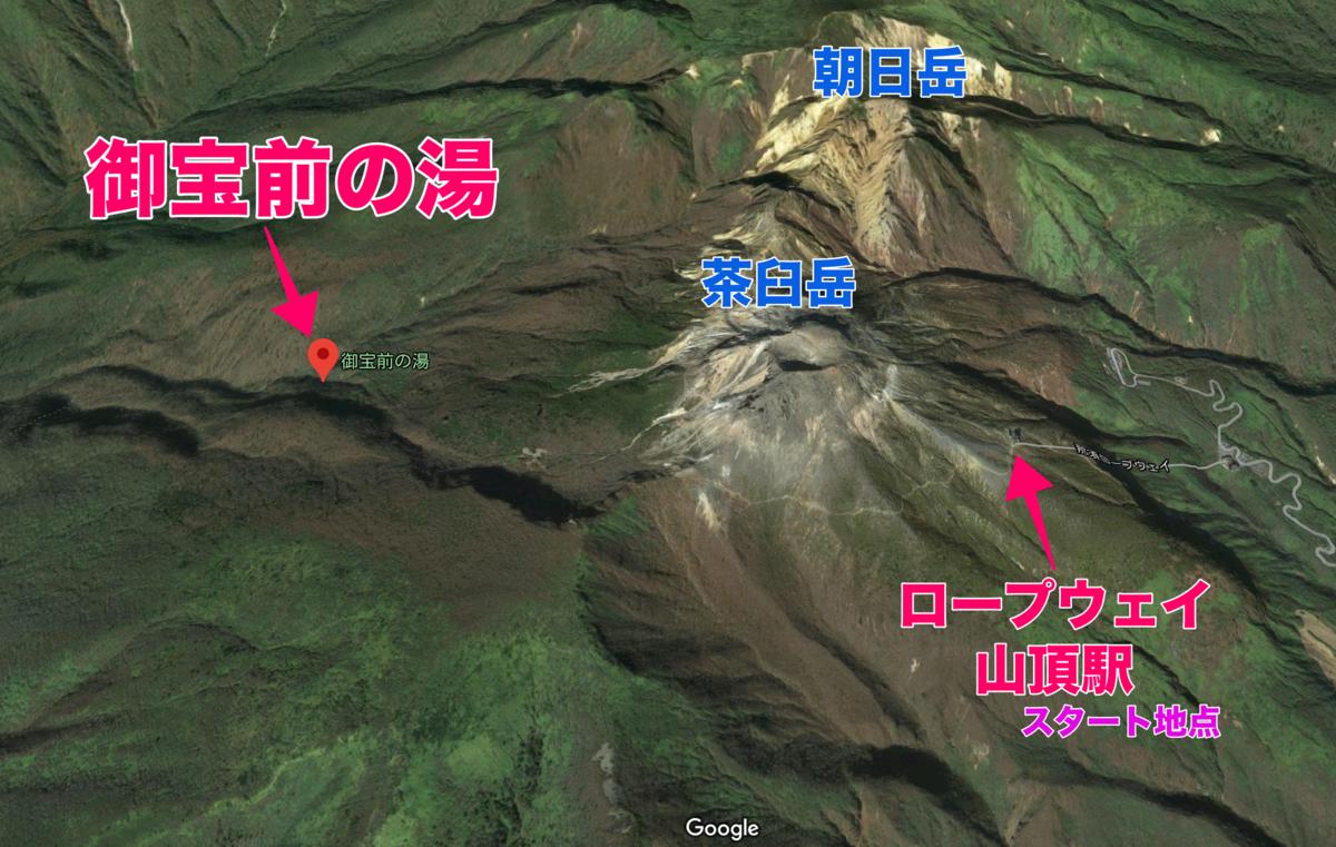 茶臼岳 御宝前の湯 那須岳