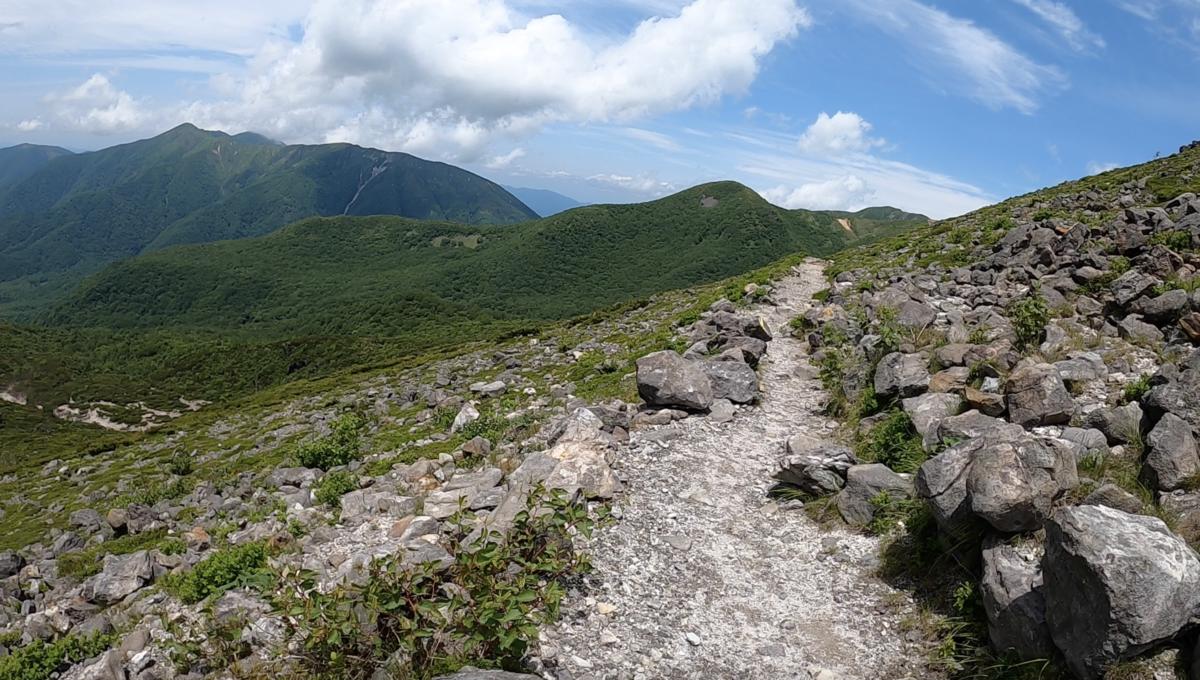 茶臼岳 朝日岳