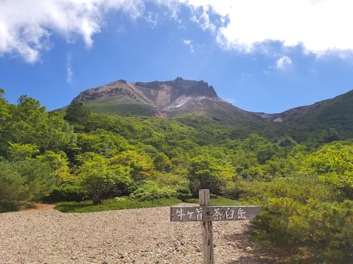 姥ヶ平 茶臼岳