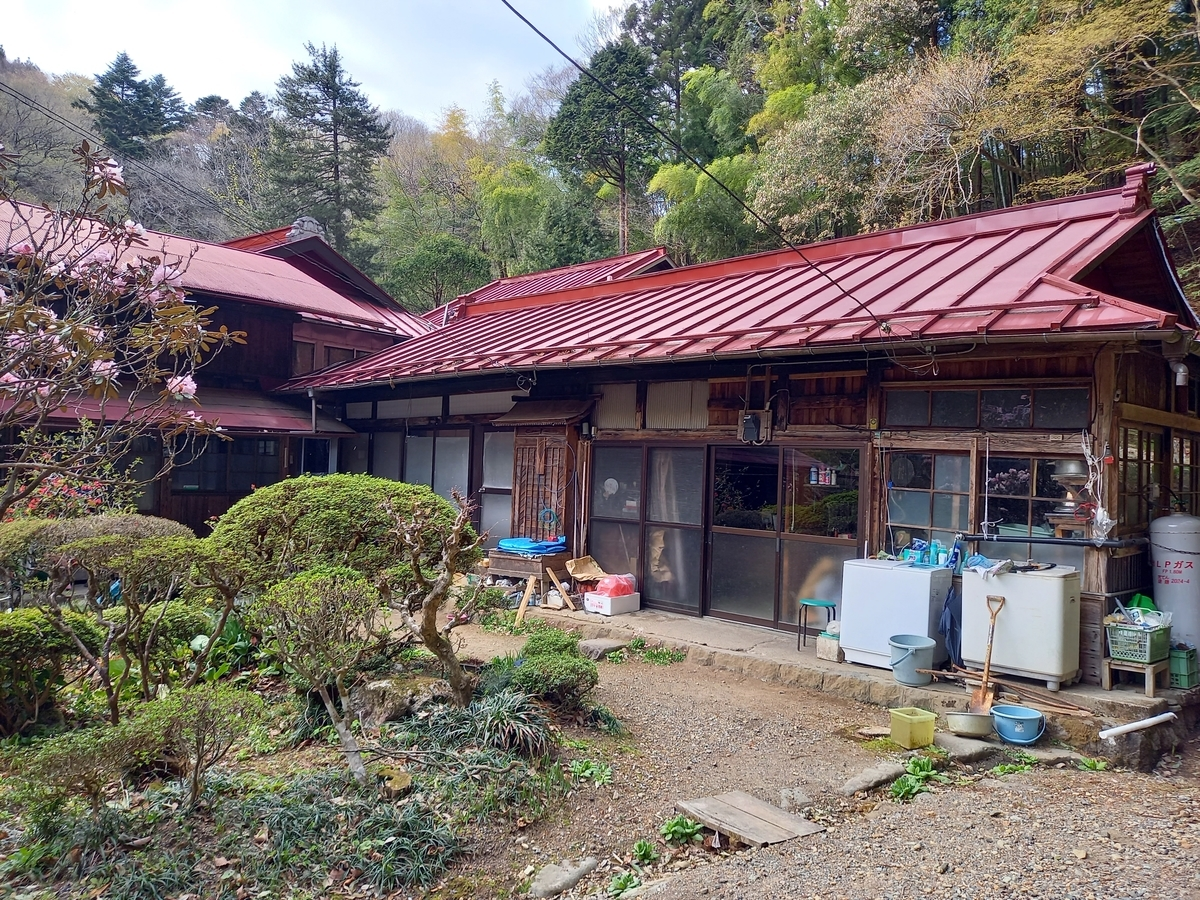 赤滝鉱泉 秘湯 栃木 矢板市