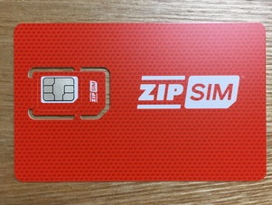 ZIP SIMカード本体