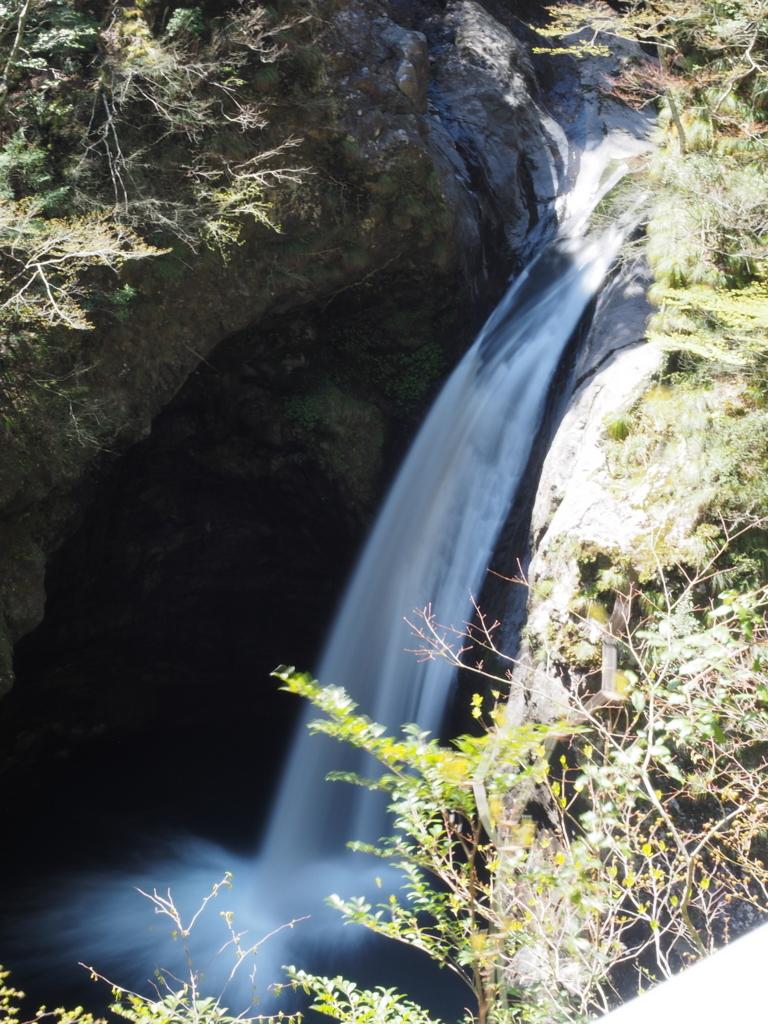 日本の滝百選 大釜の滝