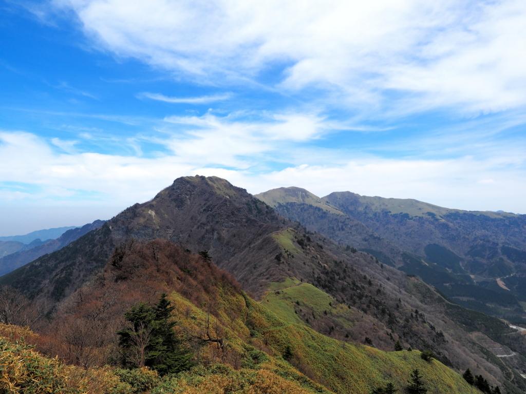 伊予富士 桑瀬峠から見る東側