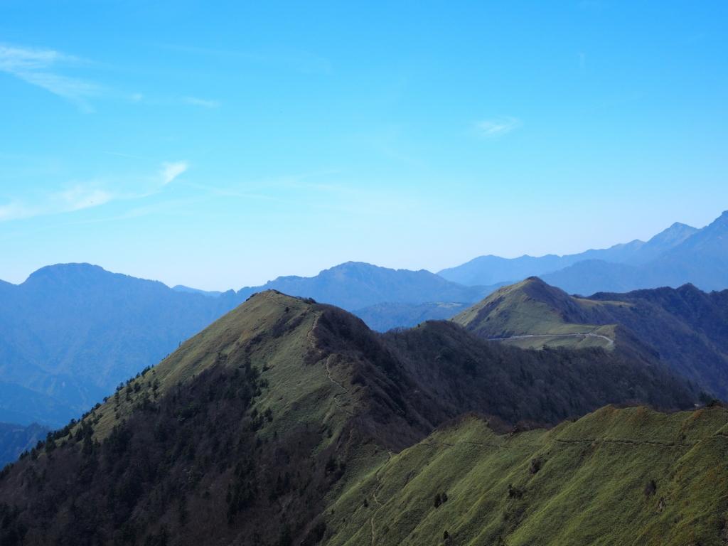 伊予富士 山頂からの風景