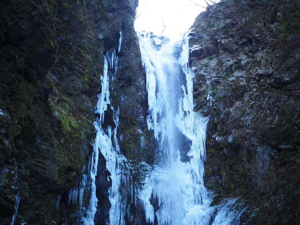 神通滝 氷瀑