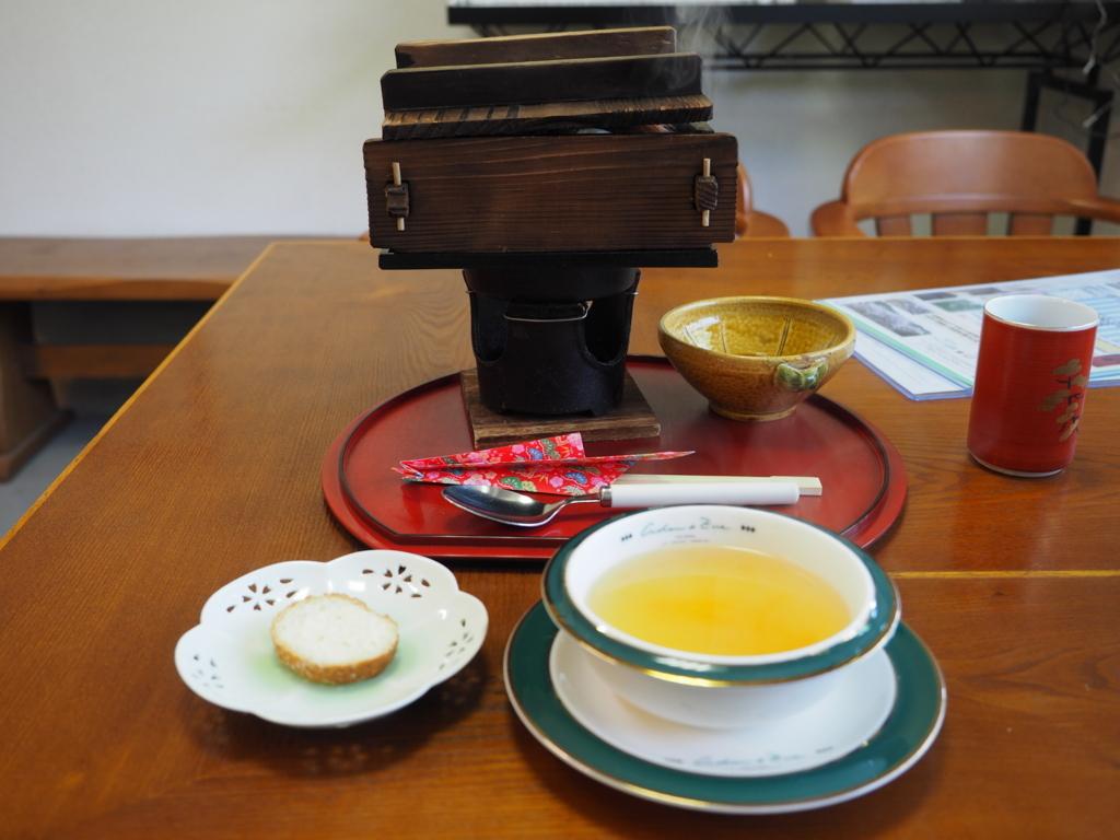 カフェ グリーン山荘 千早の風牛タンシチュー