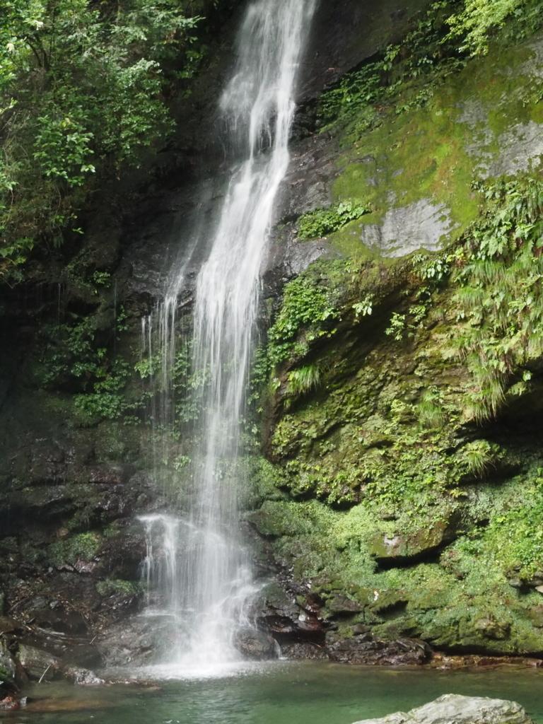かずら橋 琵琶の滝
