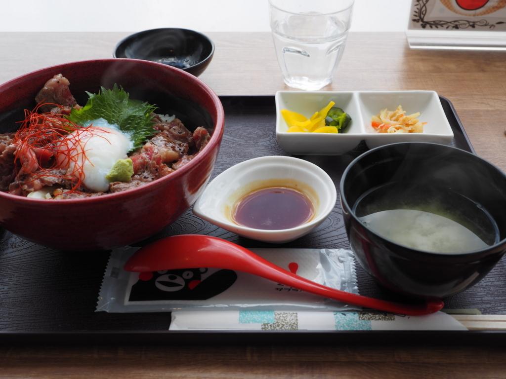 ニュー草千里 阿蘇名物 赤牛丼