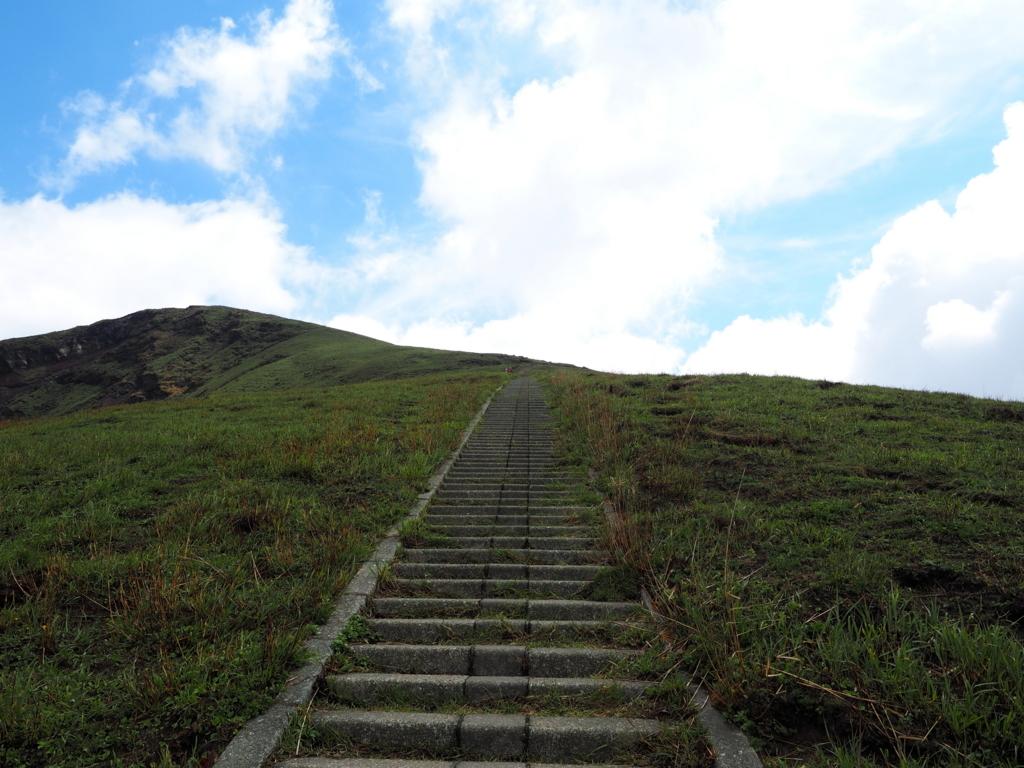 杵島岳 登山道