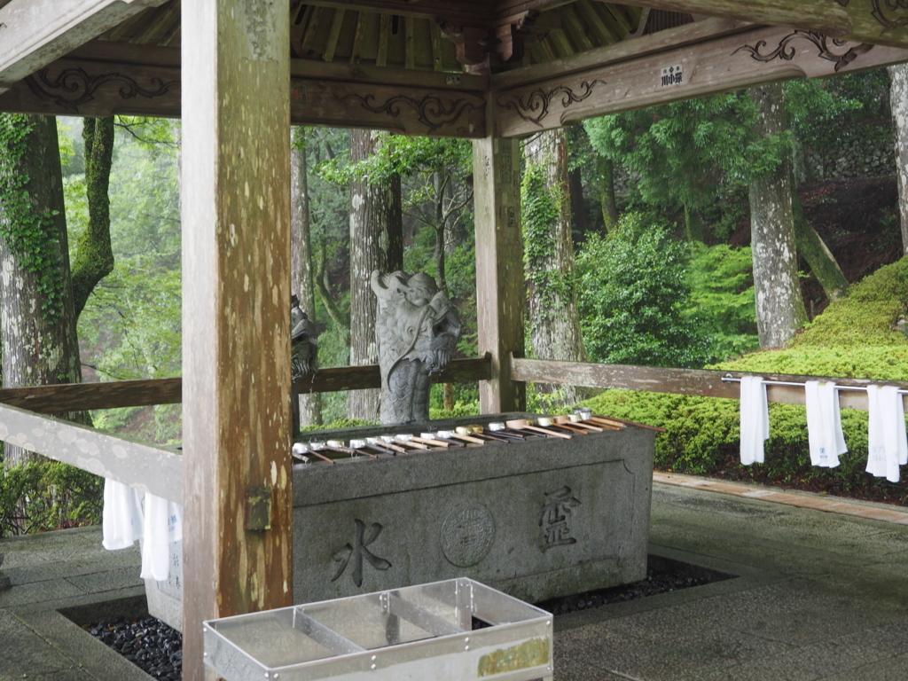 大龍寺の手水舎