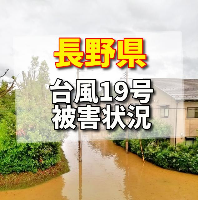 台風19号,長野県