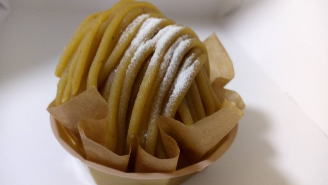 シャトレーゼ,ケーキ,和栗のモンブラン