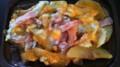 ベーコンチーズポテト