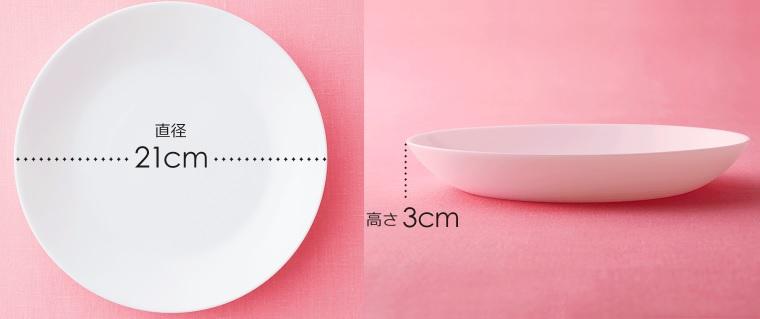 ヤマザキ春のパンまつり2021でもらえる白い皿
