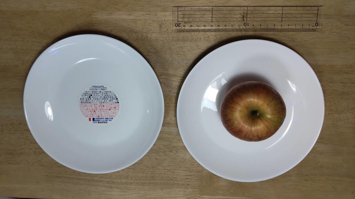 ヤマザキ春のパンまつりの白い皿