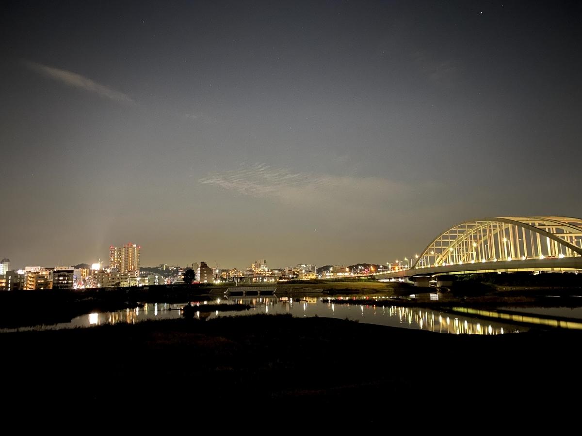 夜の多摩サイ
