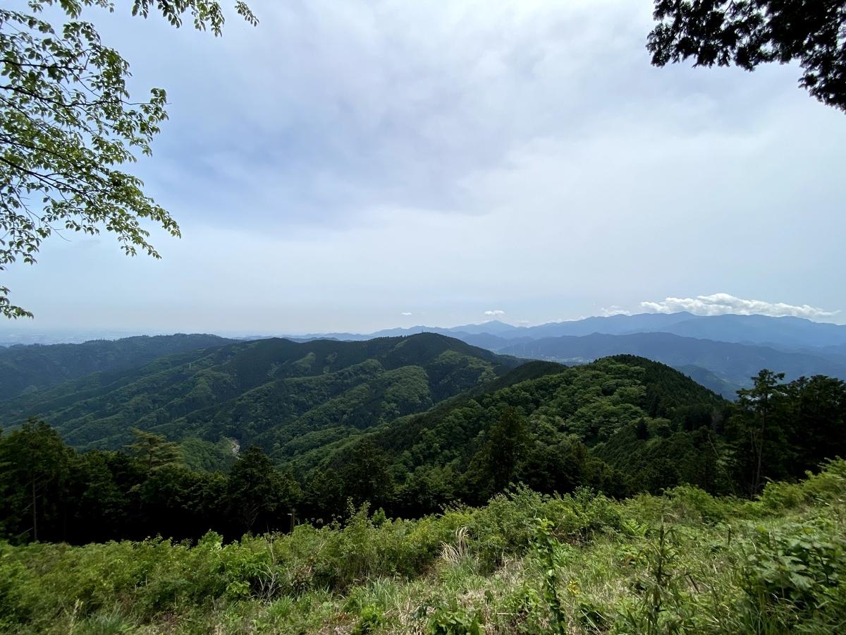 景信山山頂