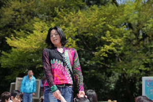 Powwow aeaa Earth Kids project2010-Inochinomori-sayuri aramaki