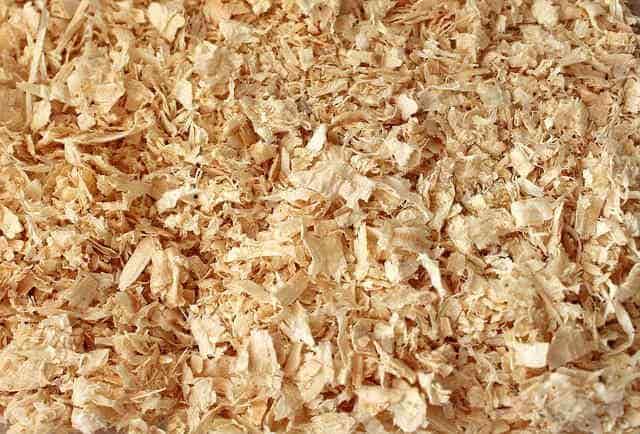 チップタイプの床材