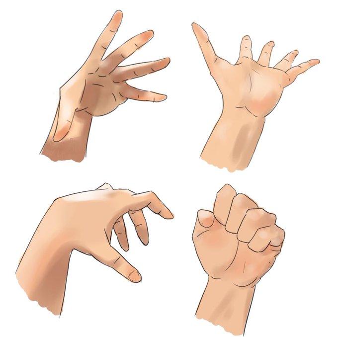 イラスト初心者が手を簡単に描く方法