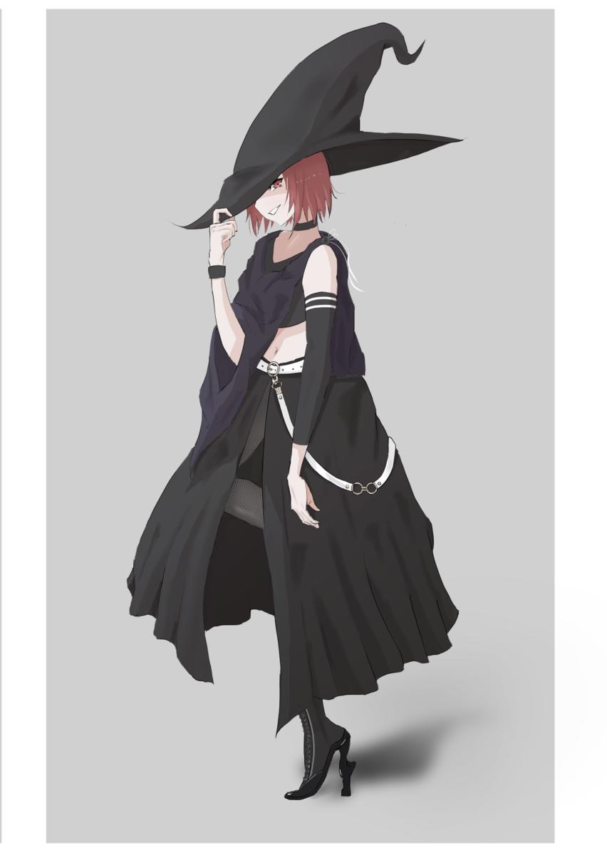絵本の主人公魔女