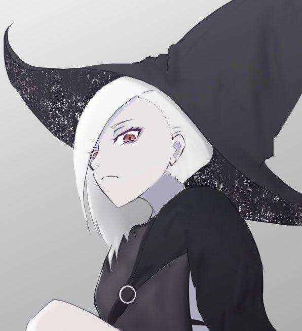 アルビノ魔女