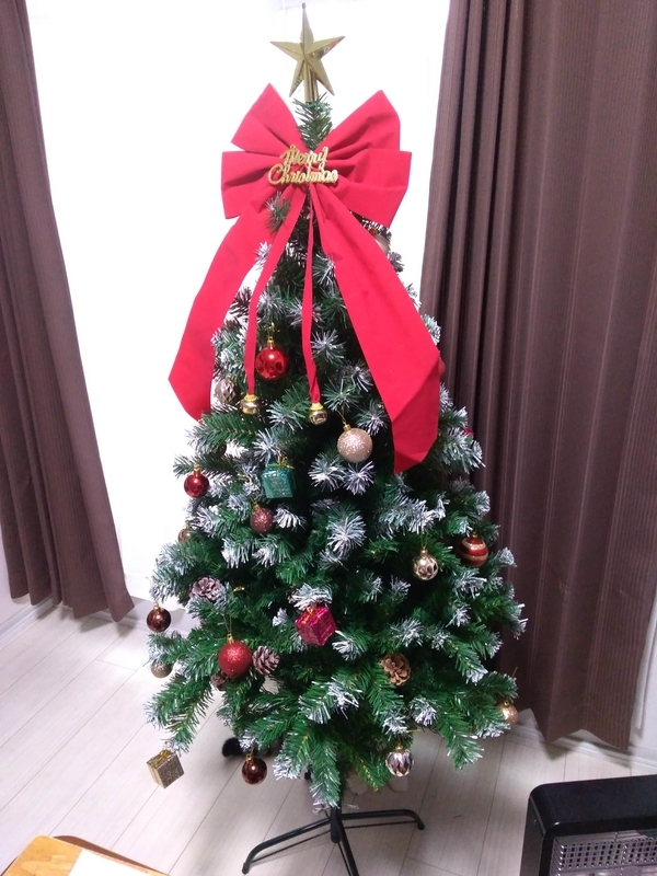 クリスマスツリー最終形態