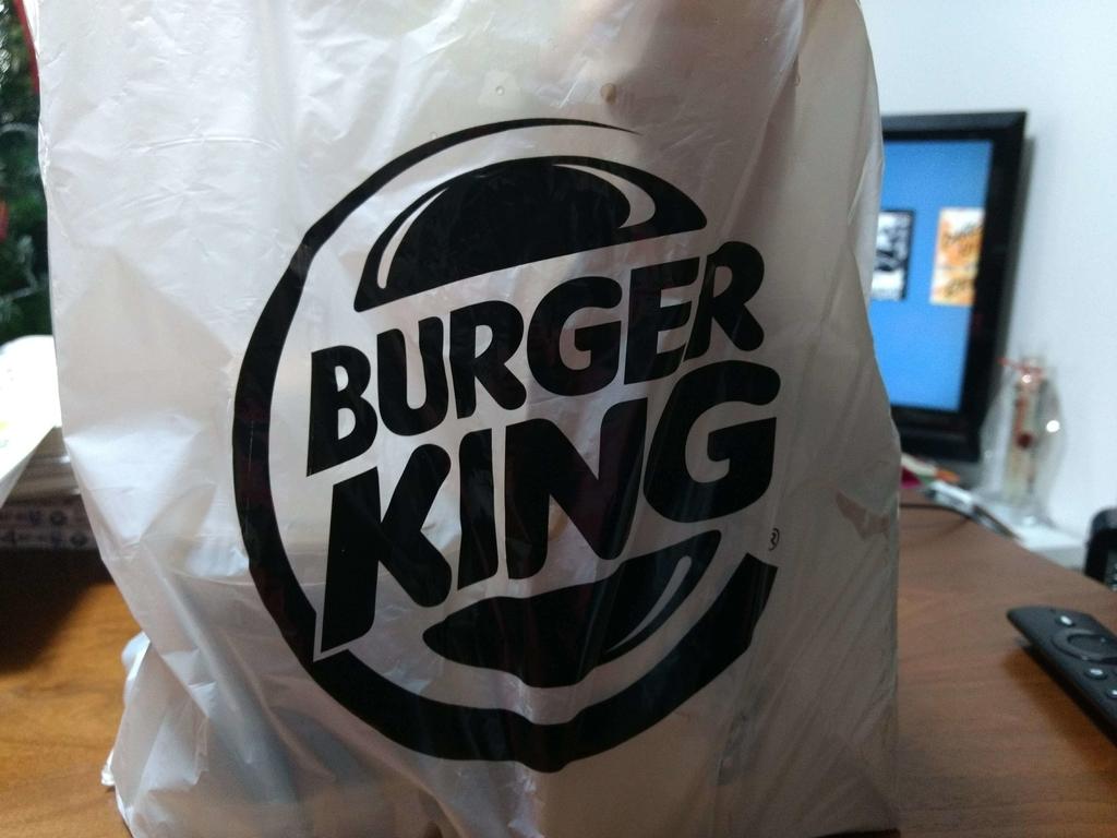 バーガーキングの袋