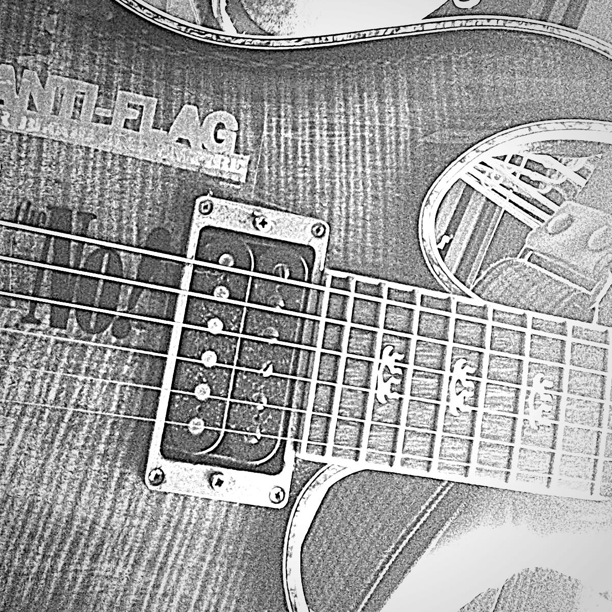 ギター the no! ステッカー