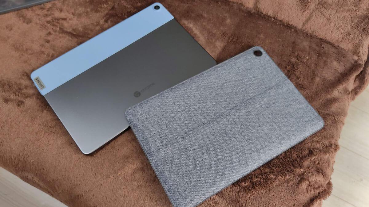 Chromebook Ideapad Duetとスタンドカバー