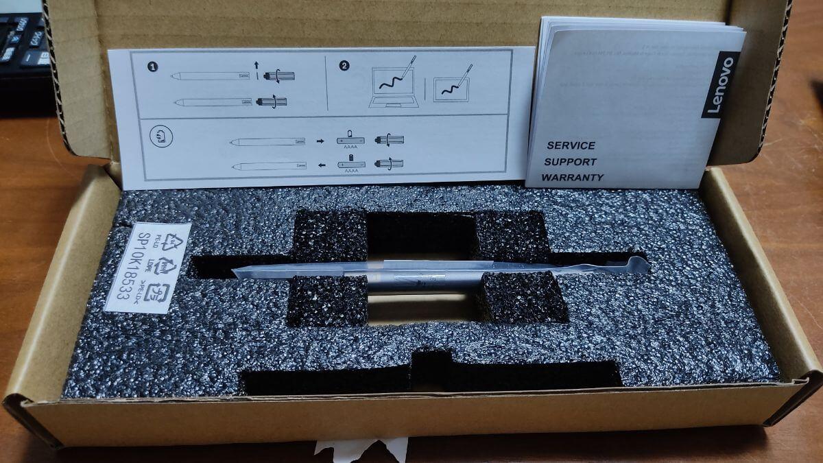 Chromebookで使うLenovo USI ペン開封の儀
