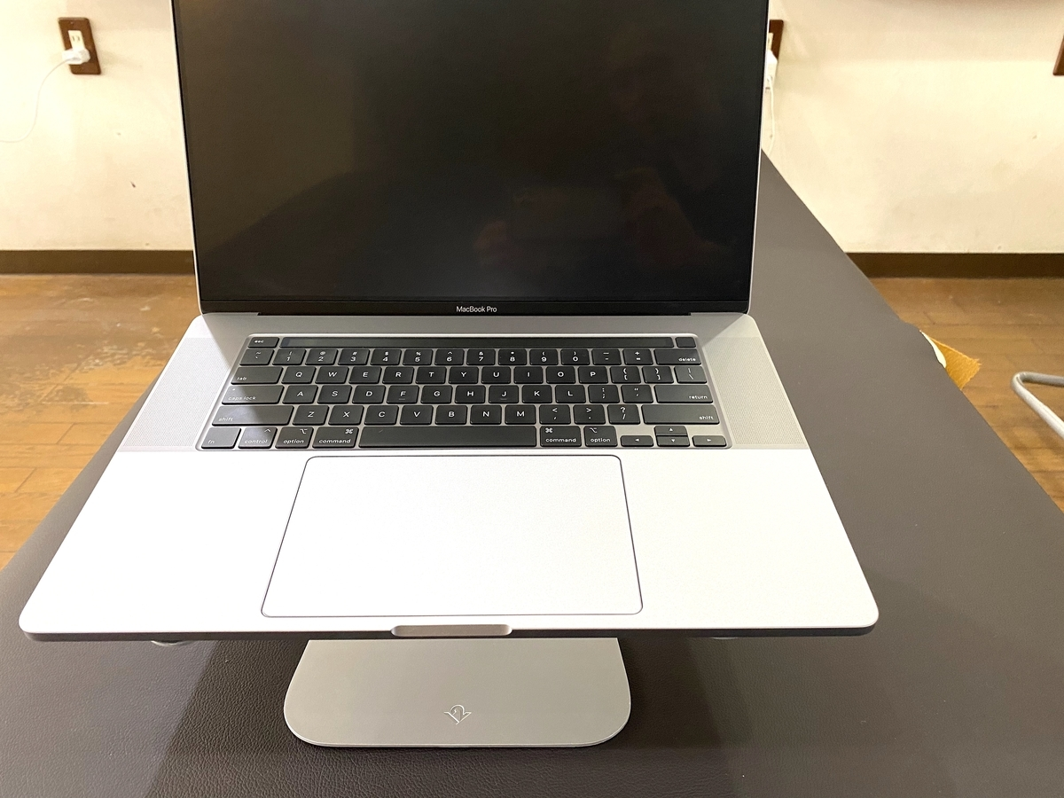 Twelve South HiRise(Macbook専用スタンド)とMacbook Pro16インチ
