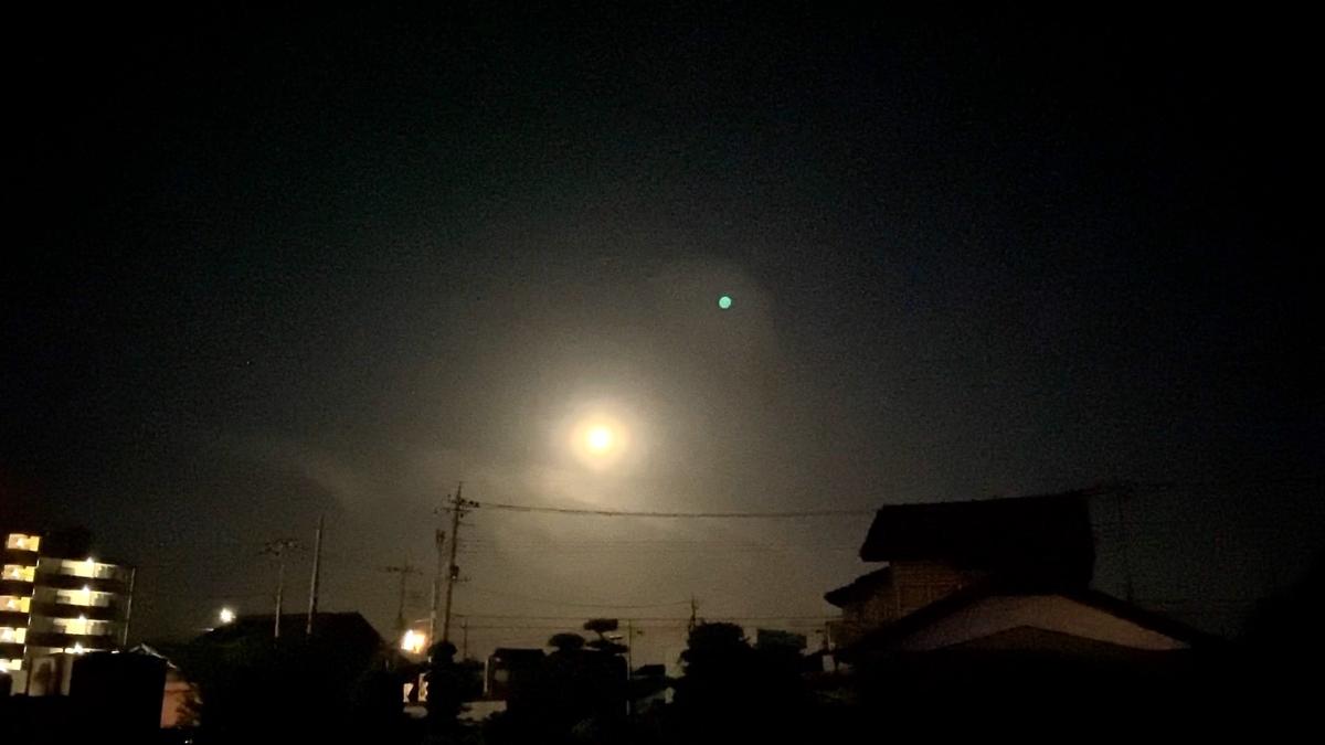 【2021年5月26日 皆既月食 スーパームーン】前日の月の様子を観察して見た Total lunar eclipse