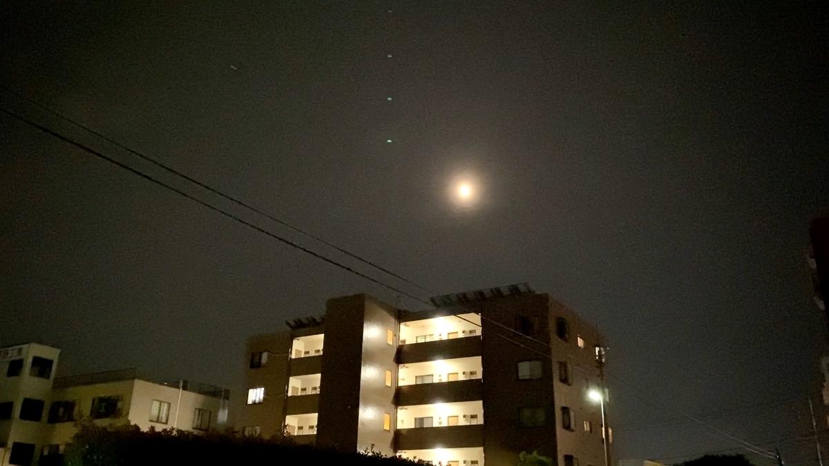 【皆既月食 スーパームーン】2021年5月26日22時!群馬県高崎市。 Total lunar eclipse
